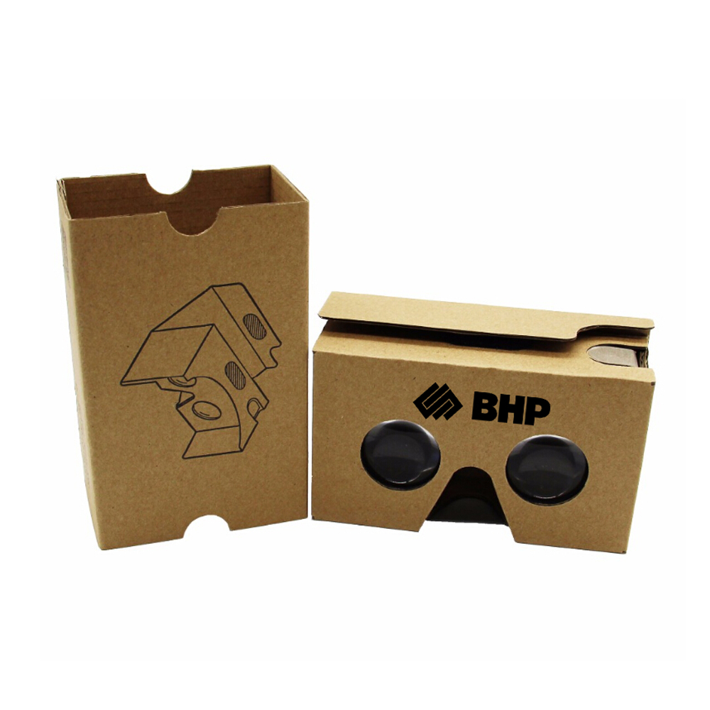 Paper Virtual Reality Phone 3D Glasses