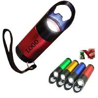 Aluminum 9 LEDs Bottle Opener Flashlight - Aluminum 9 LEDs Bottle Opener Flashlight