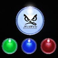 "2"" Lighted Glow Up LED Button Pin Badge - 2"" Lighted Glow Up LED Button Pin Badge"