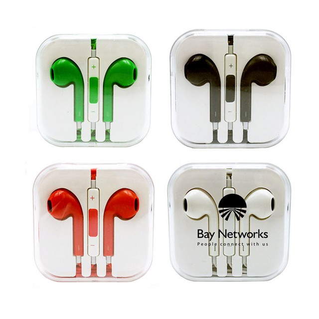 In-Ear Headphones with Mic - In-Ear Headphones with Mic